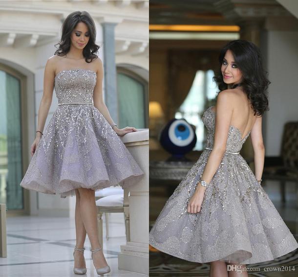 dress silver dress sequins elegance