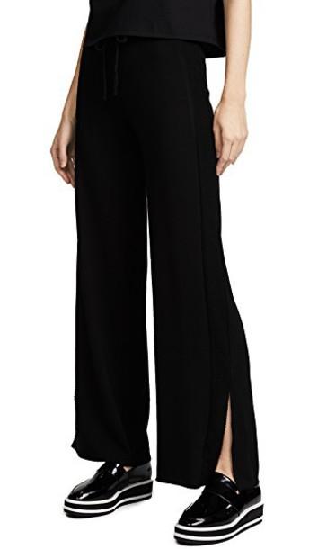 The Range pants track pants mesh black