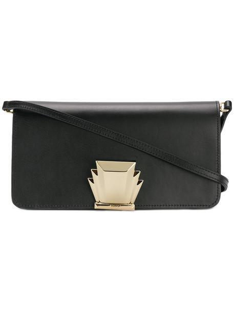 Schutz women embellished bag shoulder bag leather black