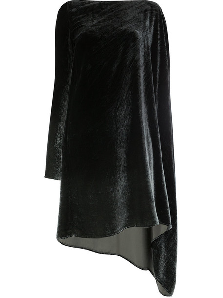 Masnada dress shift dress women black silk