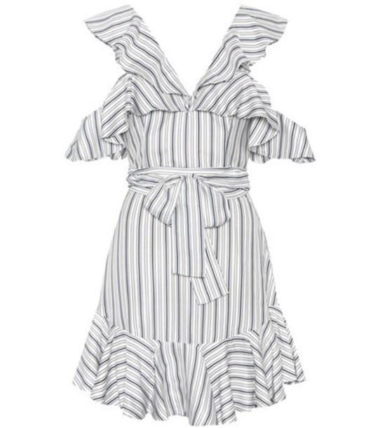 Zimmermann dress striped dress heart white