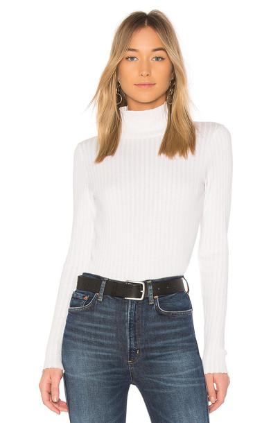 Rag & Bone/JEAN turtleneck white sweater