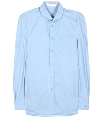 shirt blue top