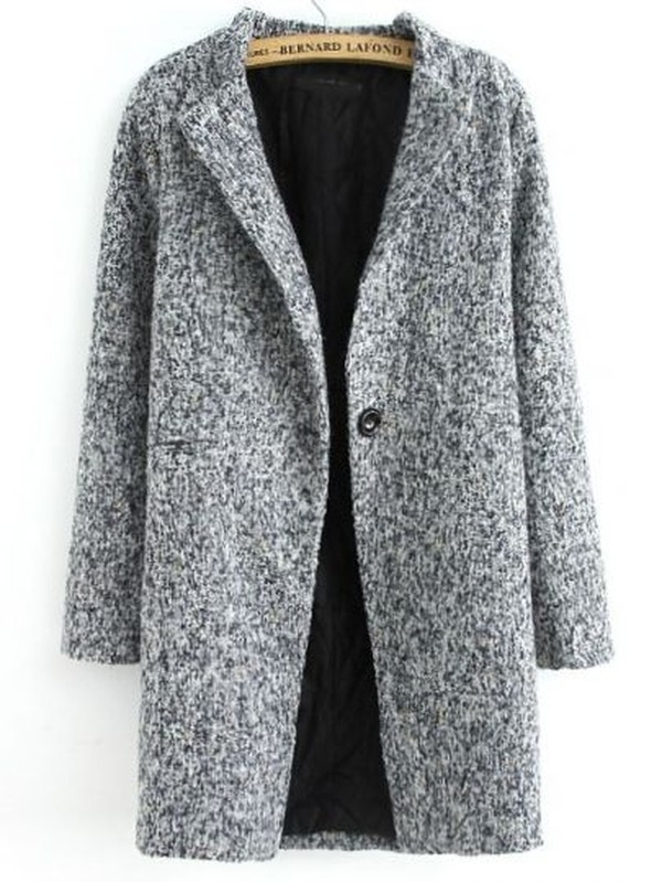 coat grey long