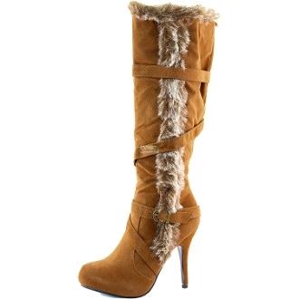 shoes tan boots tan boots fur fur boots winter boots winter outfits furry boots zip up boots
