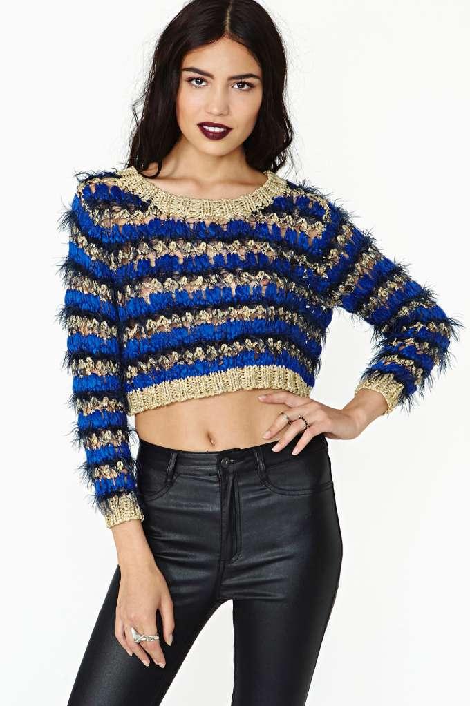 Regal Living gal regal living crop knit | shop cropped at nasty gal