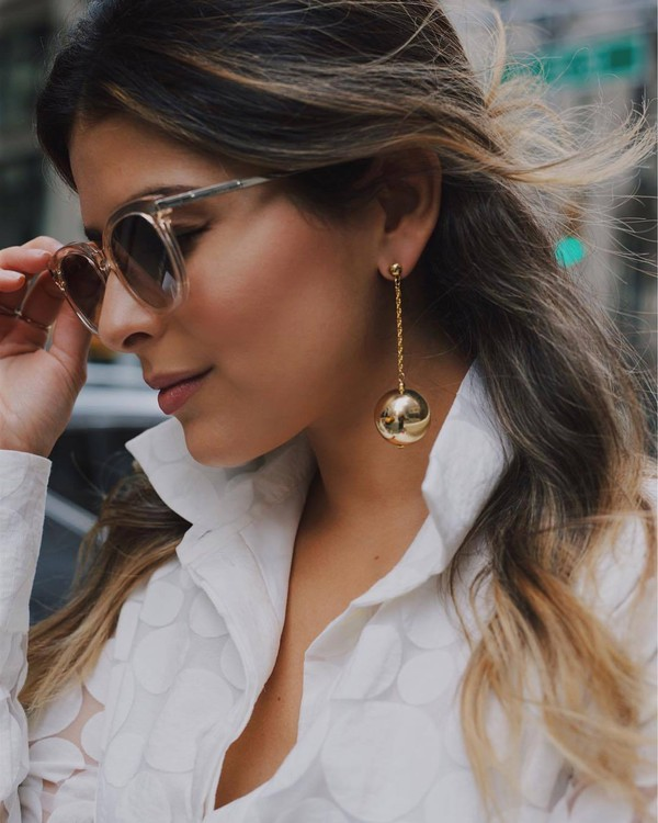 jewels tumblr jewelry accessories Accessory earrings gold earrings sunglasses