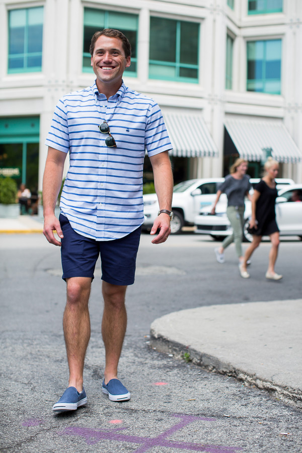 d99eb0e74d15 sequins and stripes blogger shorts shirt shoes sunglasses.