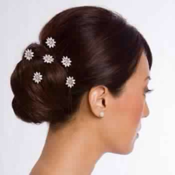 hair accessory flowers white hair clip hair accessory head jewels wedding hairstyles