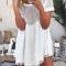 O-neck short sleeve dress with mesh splicing detailo-neck short sleeve dress with mesh splicing detail|disheefashion