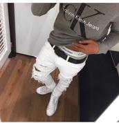 sweater,grey,grey sweater,calvin klein,crewneck,menswear,mens sweater