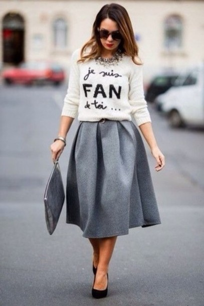 skirt brand mermaid prom dress grey maxi skirt grey skirt лукбук