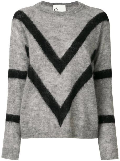 8pm - Tori jumper - women - Polyamide/Mohair/Wool - XS, Grey, Polyamide/Mohair/Wool
