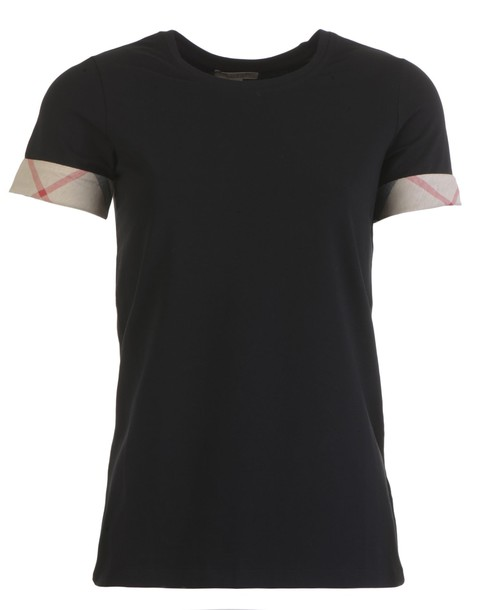 Burberry t-shirt shirt cotton t-shirt t-shirt cotton black top