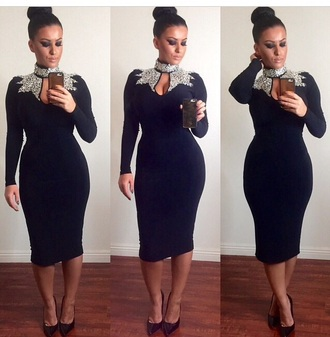 dress classy little black dress fashion