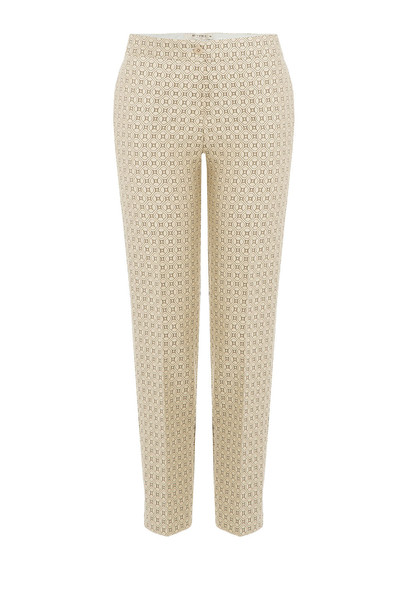 Etro Printed Pants  in gold