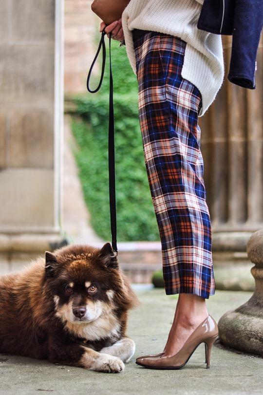Tartan trews | Thankfifi - UK fashion blog by Wendy H Gilmour.