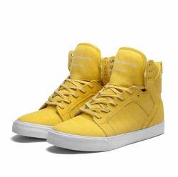 Supra Skytop - Yellow - White  | Sneakers | kissmykicks.pl