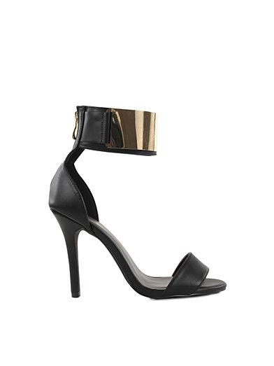 Cuff Sandal - Nly Shoes - Gull/Svart - Festsko - Sko - Kvinne - Nelly.com