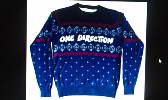 sweater one direction jumper christmas