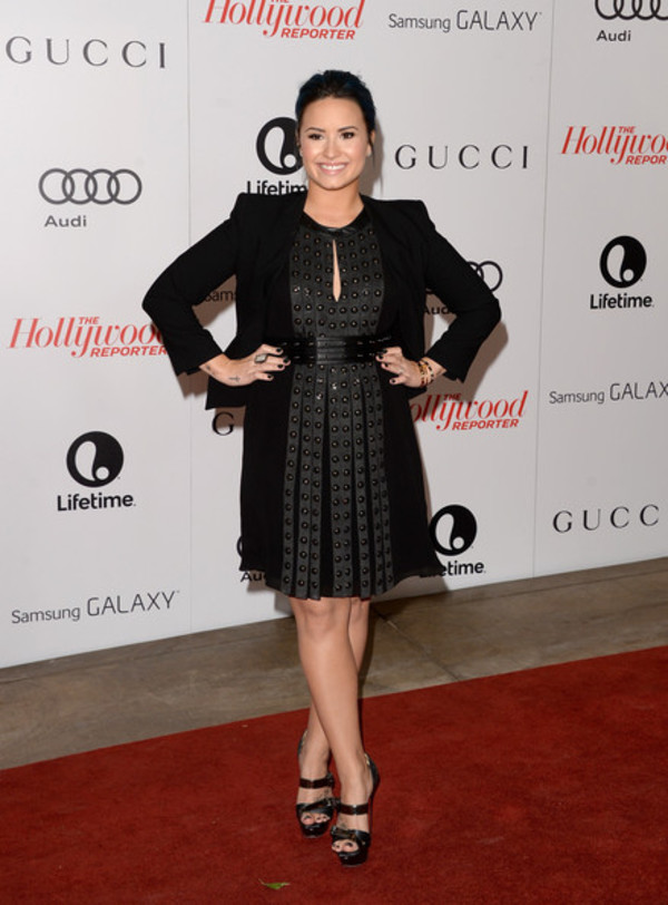 demi lovato dress jacket