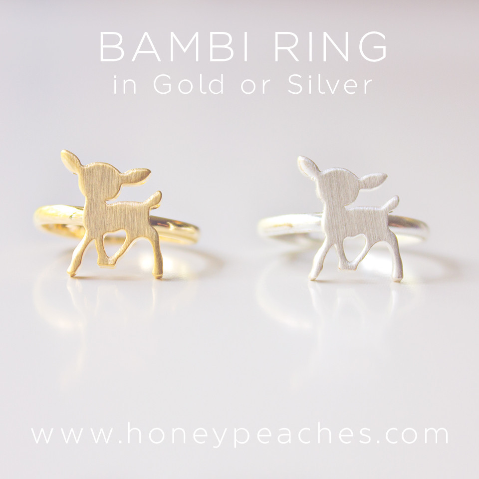 Bambi Ring – Honey Peaches