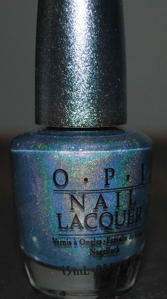 OPI Nail Lacquer Designer Series DS 034 Sapphire 034 DS 010 Discontinued Holographic | eBay