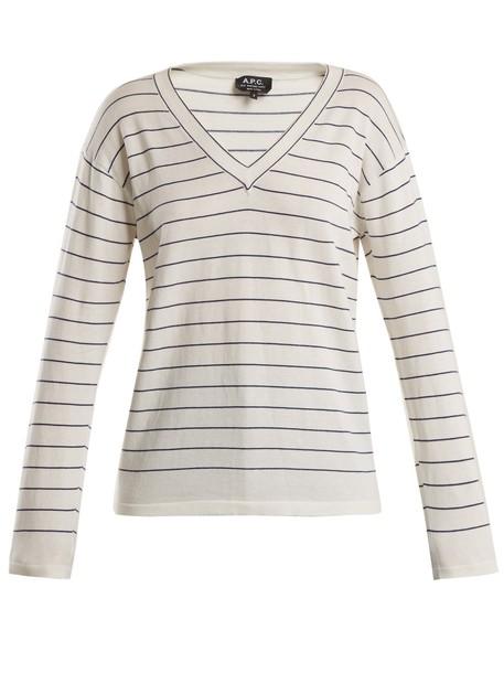 sweater cotton white