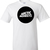 Artic Monkeys Round Logo Graphic T Shirt - Super Graphic Tees