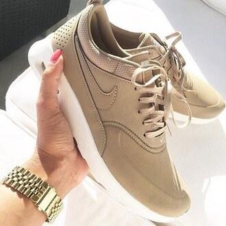 shoes nike nike running shoes nike shoes beige