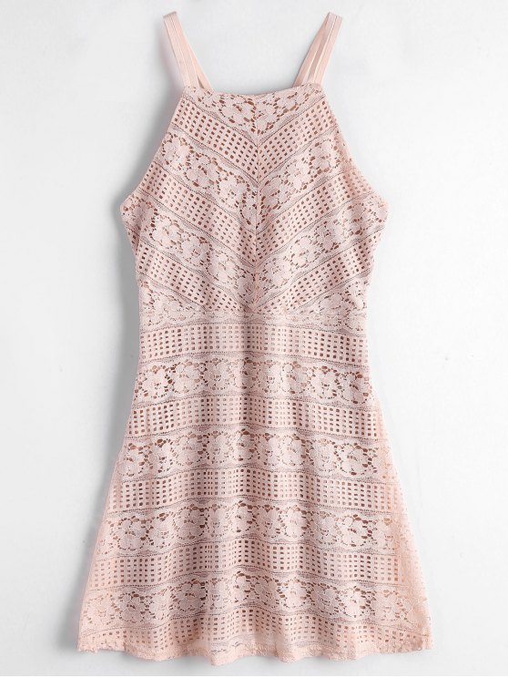 Double Layered Cami Lace Dress