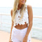 Fortune cut off shorts   sabo skirt