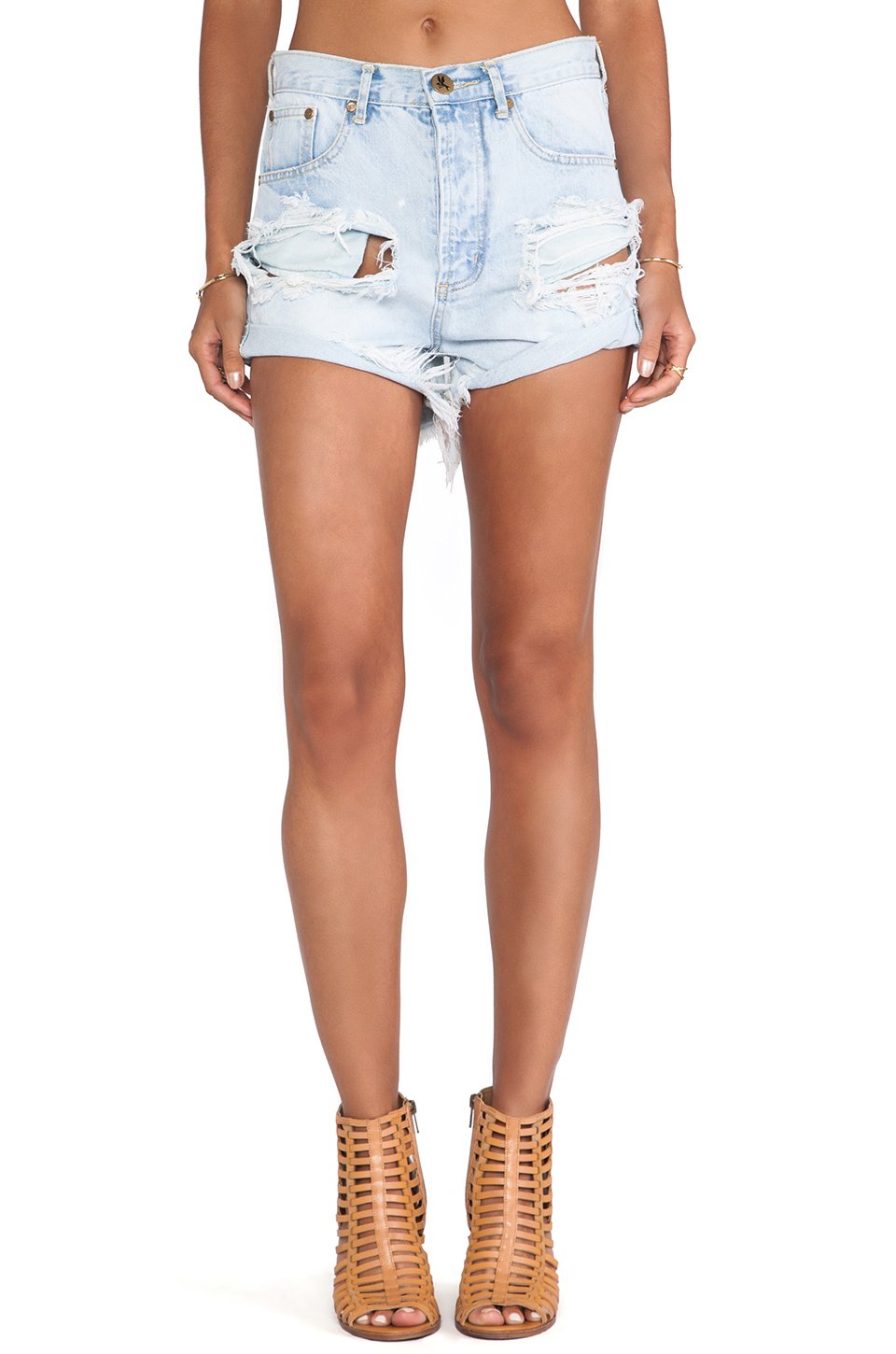 Shorts jeans outlaws from revolveclothing.com