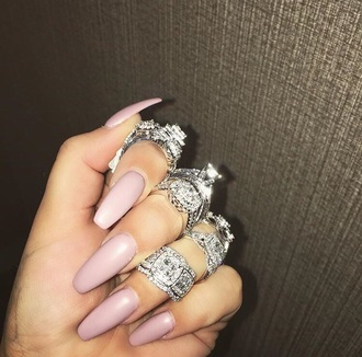 jewels ring diamond ring diamonds tumblr nails jewelry bling rings and tings engagement ring silver ring