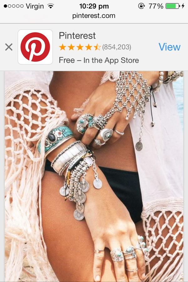 jewels silver boho jewelry bracelets jewelry rings