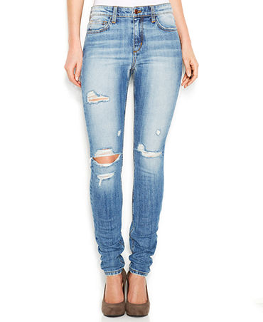 Joe's Jeans High-Waisted Skinny Jeans, Mercy Wash - Jeans - Women - Macy's