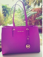 bag,michael kors,purple