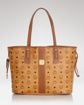 bag,mcm,mcm tote bag,tote bag,leather bag