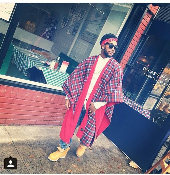 dope menswear poncho