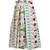 Clio Garden-print cotton wrap skirt
