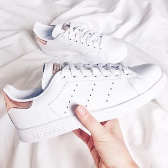 shoes adidas rose gold stan smith
