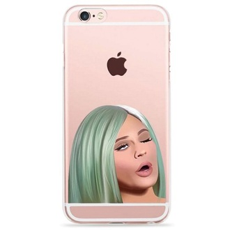 phone cover kylie jenner iphone cover cool iphone case teenagers fashion style trendy pink boogzel