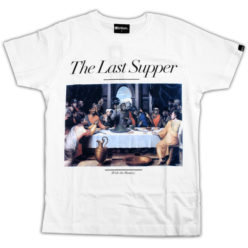 Shirt the last supper white, 34,90 €