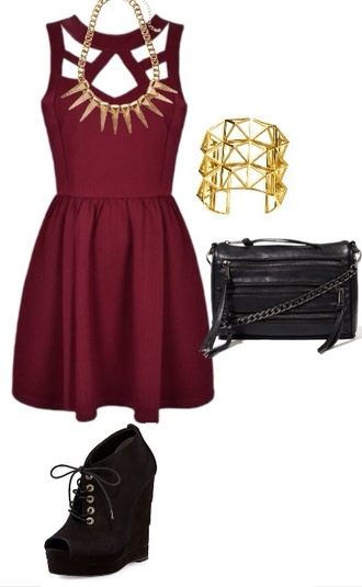 dress red formal gold high heels burgundy burgundy dress party dress holiday dress