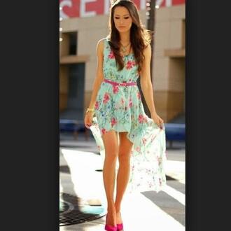 dress fashion floral dress