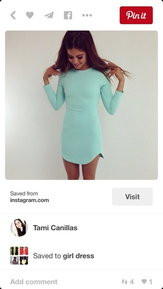dress tshirt dress mint dress pastel dress summer dress