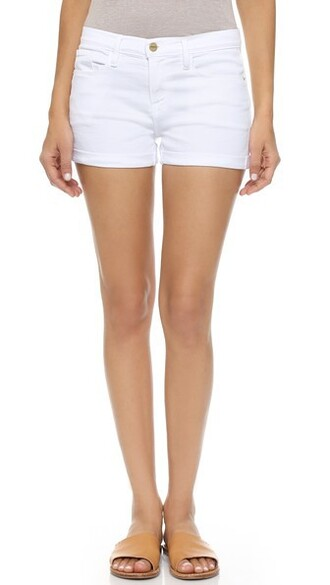 shorts blanc