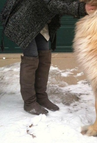 shoes dark brown suede tall boots tall boots flat flat boots brown boots suede boots slouchy boots