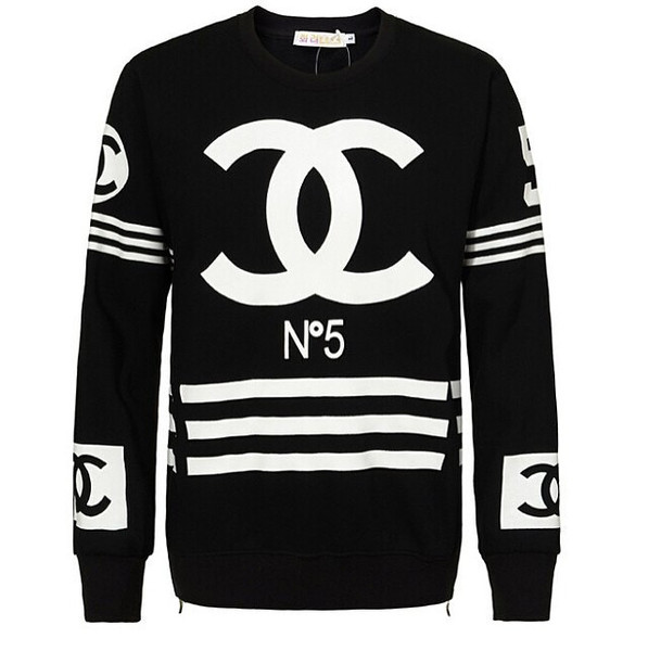 Cc crewneck with side zipper