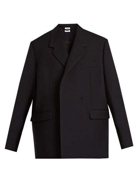 Vetements jacket oversized wool navy